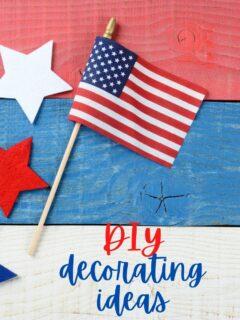 diy decorating ideas 4th of July