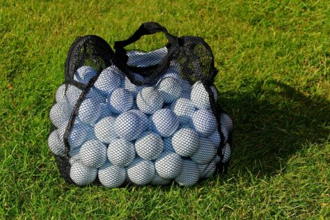 golf balls Father's Day Gift Ideas From Kids