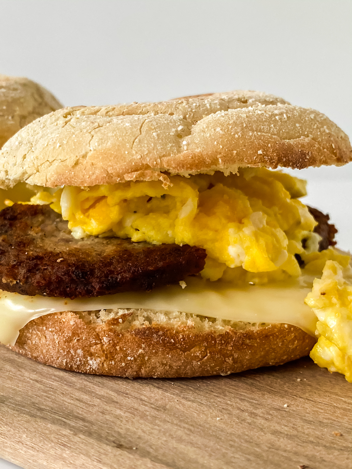 home made egg mcmuffin