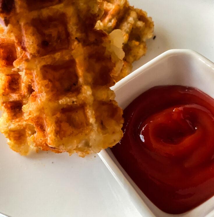 tater tot waffles