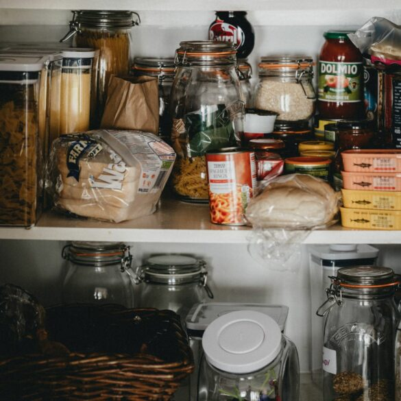 pantry declutter before you move
