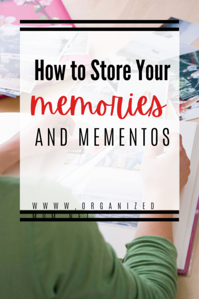 Store Your Memories and Mementos