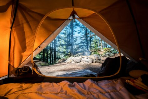 tent camping enjoy nature with your kids