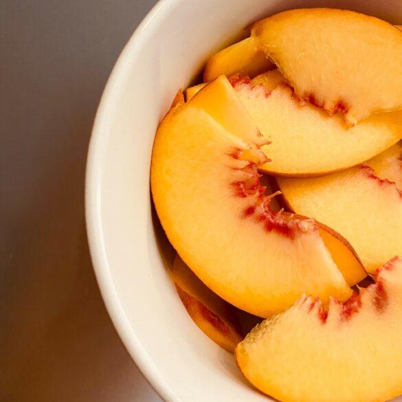 peach fabulous fall desserts