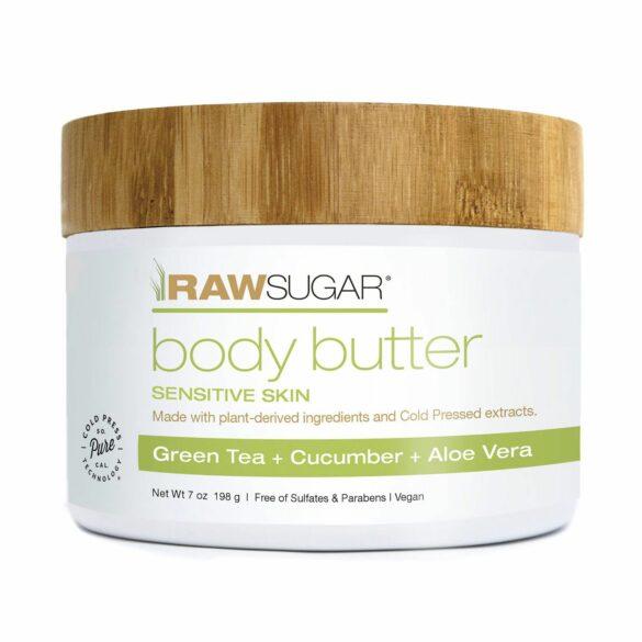 Jar of Raw Sugar body butter